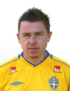 030211 Fotboll, portrŠtt: Fredrik Sšderstršm, Sverige. © BildbyrŒn - 80081 D